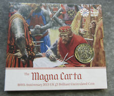 United Kingdom 2015 Anniversary of Magna Carta 2 Pound Coin in Pack