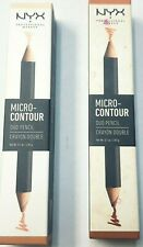 NYX   Micro Contour Duo Pencil   2 PACK   Deep Profound & Light Clair