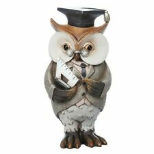 Working Owl Teacher Figurine Thank-you Gifts Retirement Collectables 290210