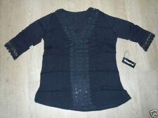 Crochet V-Neck Regular Size Tops for Women