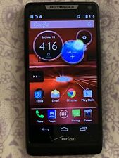 "Motorola Droid RAZR M 8 GB Black Verizon Smartphone Cell Phone ""AS IS"" 4G LTE"