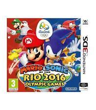 Video juego Nintendo 3DS Mario Sonic Olimpiadas Rio