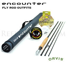 NEW - Orvis Encounter 5-weight 9' Fly Rod Outfit -Right Hand Reel -Free Shipping