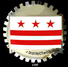 CAR  BADGES - DISTRICT OF COLUMBIA - FLAG