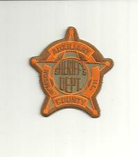 W`MSON COUNTY ILLINOIS AUXILIARY SHERIFF`S PATCH/