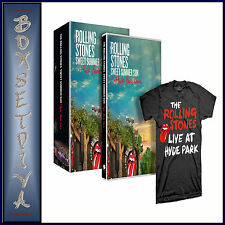 THE ROLLING STONES- SWEET SUMMER SUN - INCLUDES T-SHIRT  **BRAND NEW DVD  **