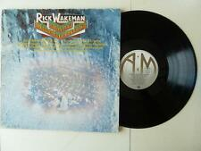 Rick Wakeman Journey To The Centre of The Earth LP Gate Fold Booklet A1/B1