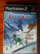 SNOW RIDER  pal Sony Playstation 2 ps2 game gioco console SNOWBOARD