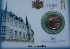 Luxemburg 2 Euro Gedenkmünze 2012 Wilhelm IV. CoinCard commemorative coin BU