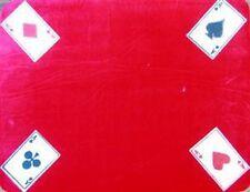 MAGICIANS CLOSE UP MAT 4 Aces – Red HK 12.5 x 16.5 4 Magic Tricks