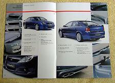 Vauxhall Vectra C & Signum Irmscher Brochure Nov 2006, bodykits, alloys