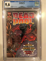 Deadpool #1 (1997) CGC 9.6 Graded (NM+) 1st Blind Al & T-Ray Marvel Comics