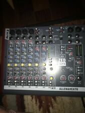 Allen and Heath ZED-10 USB Compact Stereo Mixer, like new