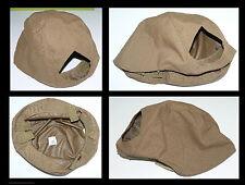F Couvre casque US pour ACH - Coyote Brown avec ouverture frontale pr plaque NVG