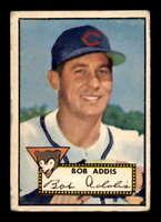 1952 Topps #259 Bob Addis  G X1610006