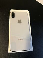 Apple iPhone X 256GB A1901 Silver for AT&T or Cricket only - Excellent Condition