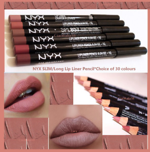 NYX Slim Lip Liner 💋Pencil •Choice of •30 colours•New&authentic