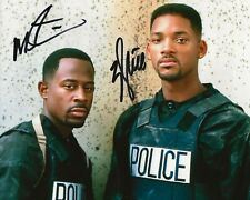 Bad Boys For Life Martin Lawrence And Will Smith Signed Photo 8x10 COA