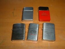 Miscellaneous Group of Five old Vintage Cigarette Lighters