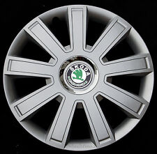 "Brand New silver  14"" wheel trims to fit  SKODA OCTAVIA, FABIA ,FELICIA"