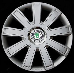 "Set of  4x 14"" wheel trims to fit  SKODA OCTAVIA, FABIA ,FELICIA"