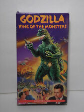 Vintage GODZILLA KING OF THE MONSTERS Science Fiction Horror 1992 VHS VIDEO TAPE