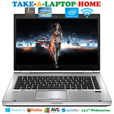 HP Elitebook Gaming Laptop Office i7 3.6GHz Windows10 Pro WiFi Webcam Fast 8Gb