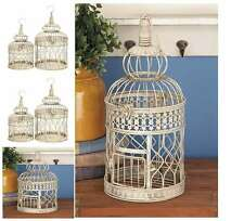 NEW Vintage Large Antique Bird Cage Decorative Wedding Wall Hanging Stand 2 Pics