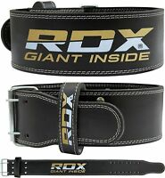 RDX Power Weight Lifting Gym Belt Training Back Support Bodybuilding Strap CA