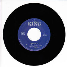 AMOS MILBURN/CHARLES BROWN VG+(+) 45 RPM REISSUE