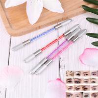 Maquillaje de Microblading cristal acrílico Manual tatuaje pl*ws