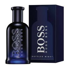 Hugo Boss Bottled Night 200ml EDT Spray Retail Boxed Sealed