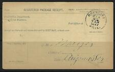 US 1897 Prescot Arizona Régiments Enregistrée Paquet Reçu De The Envoie