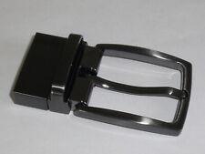 1 Schließe Gürtelschnalle Klemmschnalle 3,5cm anthrazit Nickelfrei NEU #440#