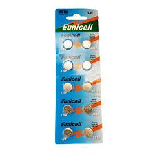 20 X eunicell Ag10 Alcalina Puntero Láser Baterías AG 10 Moneda células (2 Tarjetas)