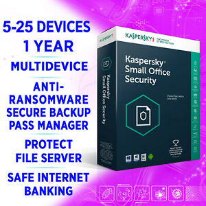 Kaspersky Small Office Security v8 5-25 devices 1-3 Server 1 year / FULL EDITION