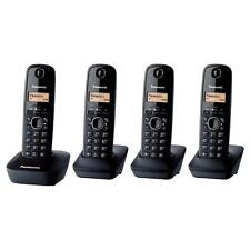 Panasonic KX-TG1614 QUAD FOUR NEW SEALED Cordless Phones