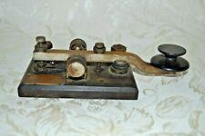 New listing Vintage Original Marconi America Spark Key Cm425 Rare Morse Code Telegraph