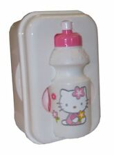 OFFICIAL HELLO KITTY WHITE LUNCH BOX + DRINKS BOTTLE BN