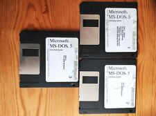 Microsoft MS-DOS 5 Disks - DOS version 5.0