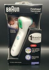Braun Forehead Thermometer BFH175 with Fever Guidance For Infants Children Adult