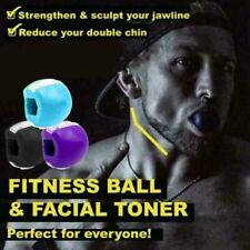 3pcs Jaw line Exerciser Top Jawzrsize Exercise Fitness Ball Neck Face Toning Jaw