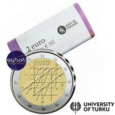 Rouleau 25 x 2 euros commémoratives FINLANDE 2020 - Université de Turku - UNC
