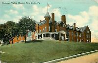 New Castle Pennsylvania~Shenango Valley Hospital on Hilltop~1910