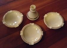 Wheaton Ware Ashtray Set With Candle Holder
