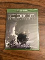Dishonored: Definitive Edition (Microsoft Xbox One, 2015) Brand New Free Ship