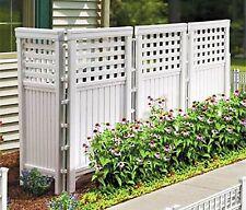 Outdoor Decorative Privacy Screen Fence Garden Deck Backyard Patio Lawn Porch