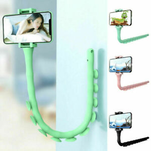 Lazy Phone Holder Cute Caterpillar Adjustable Cellphone Holder Suction Cup Stand