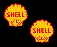 Gli oli Shell x 2 Shell Retrò Classico Motorsport F1 Race & Rally Adesivi Auto