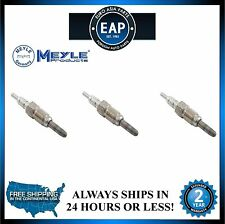 For 98-04 Beetle Golf Jetta MEYLE Heater Coolant Heater Glow Plug Set Of 3
